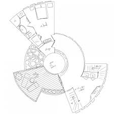 round house floor plans house plan octagon homeloor plans courtyard u round small with