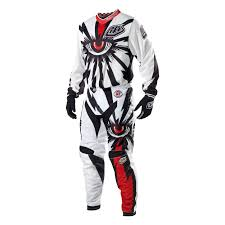 motocross gear 2013 troy lee gp air motocross kit combo cyclops white 2013