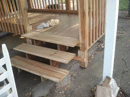 Back Porch Stairs Design Enclosed Front Porch Steps In Design Small Back Loversiq