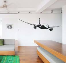 cruising boeing 787 designed wall stickers pilot eyes store