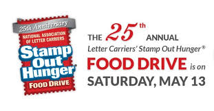 stamp out hunger u0027 food drive saturday aims to stock local food