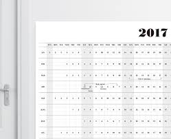 printable calendar 2017 for planner 2017 wall calendar a1a2a3 size printable calendar 2017