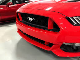 ford mustang painted front grille pillar covers rpidesigns com