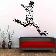 Man Home Decor Online Get Cheap Men Soccer Wall Sticker Aliexpress Com Alibaba