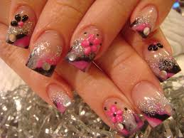 acrylic nail designs how you can do it at home pictures