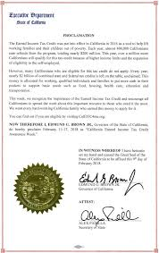 california state tax table 2016 governor brown issues proclamation declaring california earned