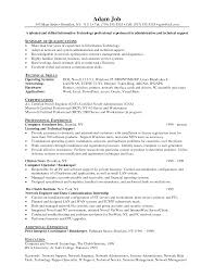 Sample Resume Of Network Administrator by 100 Linux Admin Sample Resume Linux Server Administrator Resume