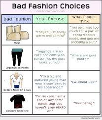 Bad Fashion Meme - bad fashion choices by ben meme center