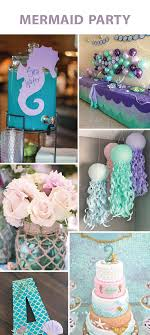 girl birthday party themes 4 party themes we adore party birthdays mermaid and