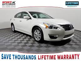 nissan altima 2015 warranty used 2015 nissan altima 2 5 4d sedan in orlando zp159806 sport