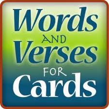 wording ideas for handmade cards bible verses and christian
