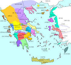 blank map of ancient greece ancient greece city states and ethnic groups maps history
