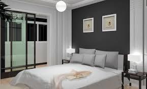 chambre ton gris peinture chambre gris et bleu dco chambre peinture bleu