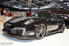 porsche modified cars techart presents modified porsche 911 turbo s in geneva