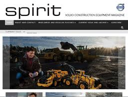 volvo website volvo spirit magazine grove studios