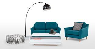 Sofa King Advert by Rufus 2 Seater Sofa Rich Azure Made Com