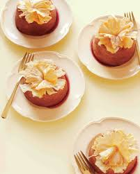 pineapple upside down mini cakes recipe