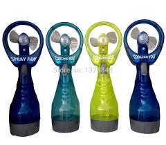 handheld misting fan cooling water spray fan handheld bottle misting fan in party
