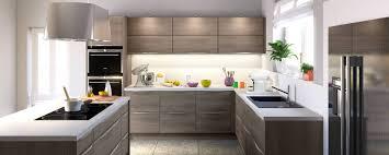 finition de cuisine agréable cuisine bois clair moderne 4 cuisine mixant finition