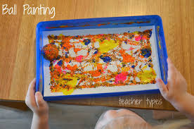 simple painting ideas for toddlers teacher types