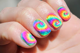 the colorful dye nailart for short nails nail art designs 2016