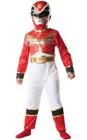 power ranger halloween costumes for kids rubies new kids red ranger classic boys fancy dress costume