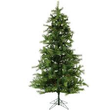 fraser hill farm 7 ft pre lit led southern peace pine artificial