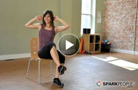 Chair Cardio Exercises 12 Minute Seated Core Workout Video Core Workouts Exercises And