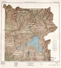 Map Of Montana And Wyoming by Plateaus Of Yellowstone National Park Wikipedia