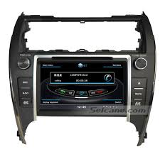 gps toyota camry 8 inch aftermarket oem gps stereo upgrade for 2012 2013 2014