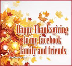 happy thanksgiving to my friends and family festival