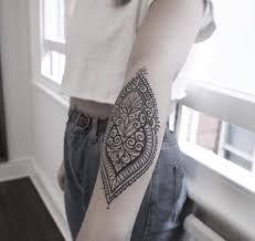 inner elbow henna style tattoo tattoo artist alex bawn tattoos