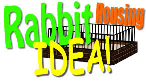 Homemade Rabbit Hutch Rabbit Housing Idea Homemade 10x10 Bunny Hutch Filled With Dirt