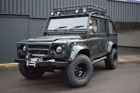 land rover ninety land rover defender 110 2 5 td5 xs double cab 4dr spectre edition
