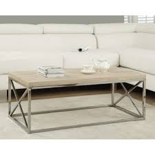coffee table monarch coffee table glossy white with chrome metal