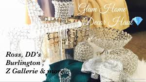 bling home decor glam home decor haul 2017 a must see youtube