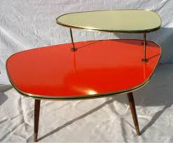 vintage mid century boomerang formica coffee table west germany