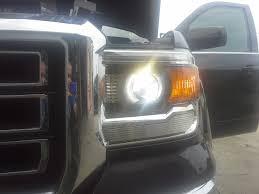 2017 jeep wrangler fog light bulb size installing led headlights in 2014 gmc sierra better automotive