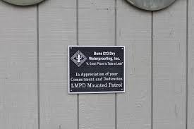 community outreach bone dry waterproofing