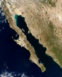 Map Of California And Mexico by Nasa Visible Earth Gulf Of California