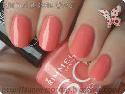 rimmel instyle coral just a bit of vanity beauty tips and