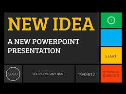 new idea powerpoint presentation by yordstudio graphicriver