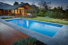 8 5m monaco fibreglass swimming pool electric grey