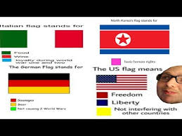 What Is The Meaning Of Meme - the meaning of flags colors meme review youtube