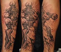 3 thor tattoo designs and ideas