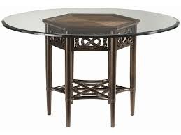 Tommy Bahama Patio Furniture Clearance by Tommy Bahama Home Royal Kahala Sugar And Lace Table With 60 Inch
