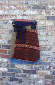 Upcycled Sweater Skirt - sweater wrap skirt upcycled sweater wrap by rebirthrecycling