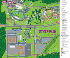 Map Of The State Of Virginia by Complete State Fair Of Virginia 2015 Guide Now Including Deep