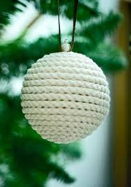tree ornaments made out of rope for those looking for