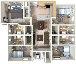 Apartment Block Floor Plans East Lansing Apartments Block 36 Student Housing